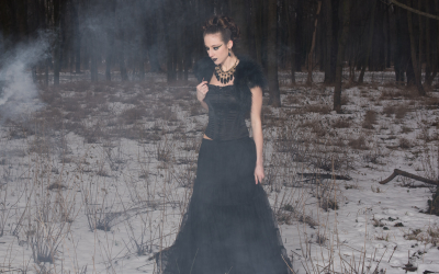 Winter Fantasy Shooting, Model: Sabine Schneeberger