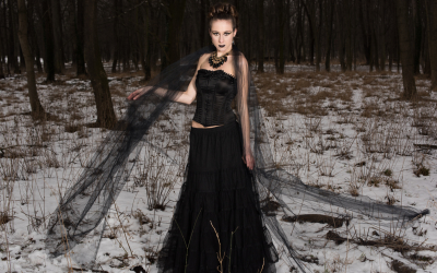 Winter Fantasy Shooting, Model: Sabine Schneeberger