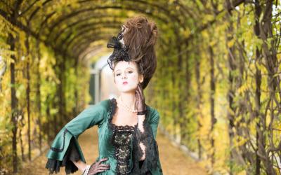 Barock Shooting, Model Sabine Schneeberger