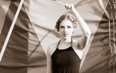 Zirkus Shooting, Model: Hannah Laminger