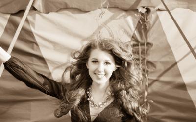 Zirkus Shooting, Model: Larissa Loidolt