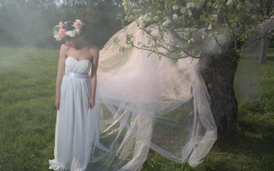 Fotoshooting in Laxenburg, Model: Sabine Schneeberger