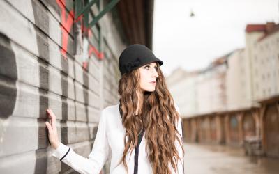 Naschmarkt Fotoshooting, Model: Sabine Schneeberger