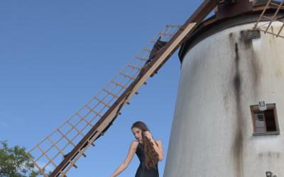Podersdorf Fotoshooting, Model: Sabine Schneeberger